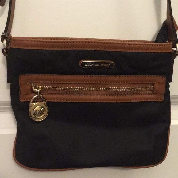 5f86ec4d6b97 MICHAEL Michael Kors Bags | Michael Kors Nylon Crossbody Bag | Poshmark
